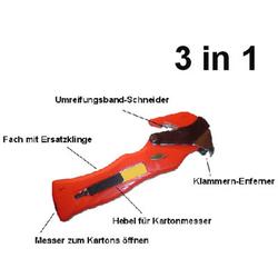 Kartonöffner `One-for-all` - universal einsetzbar