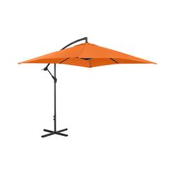 Ampelschirm - orange - rechteckig - 250 x 250 cm - neigbar