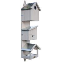 Habau Vogelstation Triple