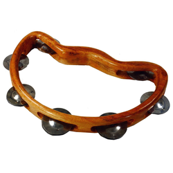 Guru-Shop Spielzeug-Musikinstrument Musikinstrument aus Holz, Musik Percussion.. 16 cm x 24 cm x 3 cm