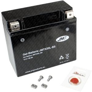 Gel-Batterie für Harley-Davidson FLSTF Fat Boy, 2007-2011, wartungsfrei, inkl. Pfand €7,50