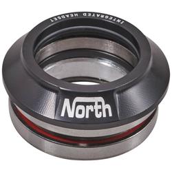 Headset NORTH SCOOTERS - Star Integrovaný Headset Black (BLACK)