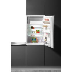 Einbaukühlschrank, 87,3 cm hoch, 55,0 cm breit, Kühlschrank, 699696-0 weiß weiß