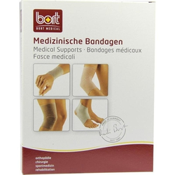 BORT Kniebandage schwarz medium