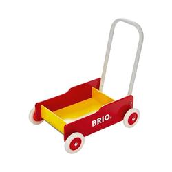 BRIO® Lauflernwagen Holz Lauflernwagen gelb