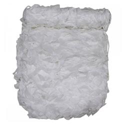 MFH Sonnensegel Tarnnetz, 3 x 2 m, Basic, weiß, mit PVC-Tragebeutel weiß