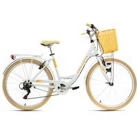 KS-CYCLING Cantaloupe 26 Zoll RH 48 cm Damen weiß