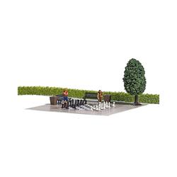 Busch Modelleisenbahn-Set A-Set: Gartenschach H0