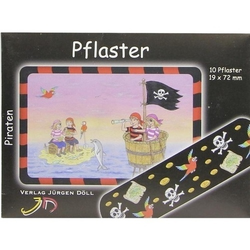 KINDERPFLASTER Piraten Briefchen 10 St
