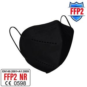 Aero Armor FFP2 Maske schwarz