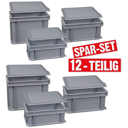 Stapelbox (12 Stück), Polypropylen