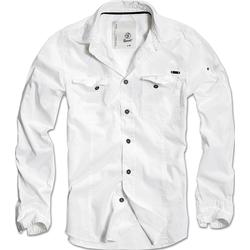 Brandit Slimfit, Hemd - Weiß - M
