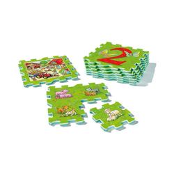 Ravensburger Puzzlematte Puzzlematte My first play, je 25x25 cm, Zählen und, Puzzleteile
