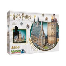 Wrebbit 3D-Puzzle 3D-Puzzle Harry Potter Hogwarts Große Halle 850, Puzzleteile