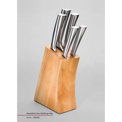 Messerblock NEW STEEL DESIGN(LBH 19x8x34 cm)