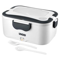 Unold Lunchbox 58850 Lunchbox weiß/grau
