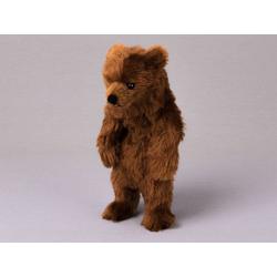Kösen Kuscheltier Braunbär Molli 26 cm (Braunbären Stofftiere Bären, Stoffbären Grizzlybären)