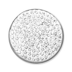 Münze für Münzanhänger weiß