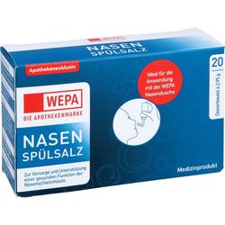WEPA Nasenspülsalz 59 g