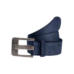 TOM TAILOR Ledergürtel, weiche Oberfläche blau Damen Ledergürtel Gürtel Accessoires