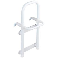 WENKO Badewannen-Einstiegshilfe Secura, belastbar bis 120 kg, mit Handtuchhalter
