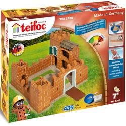 teifoc Steinbaukasten Ritterburg, (435 St.), Made in Germany bunt Kinder Ab 6-8 Jahren Altersempfehlung