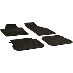 Walser Passform-Fußmatten (4 Stück), VW Caddy Kombi, für VW Caddy BJ 2003 - 2019
