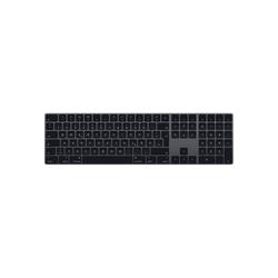 Apple Magic Keyboard mit Ziffernblock Deutsch, Space Grau grau