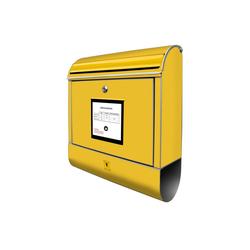 banjado Briefkasten BK 10051 P weiß