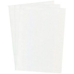 Perlmuttpapier, weiß, 21 x 29,7 cm, 10 Blatt