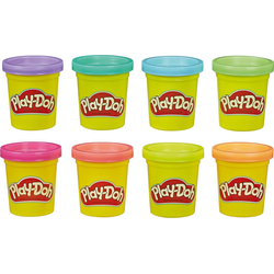 Hasbro Knete Play-Doh 8-er Pack Knete Neon