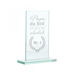Glasständer zum Vatertag
