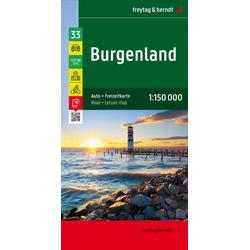 Burgenland Top 10 Tips Autokarte 1:150.000
