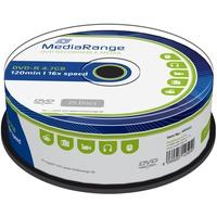 MediaRange DVD-R 4,7GB 120min 16x 25er Spindel