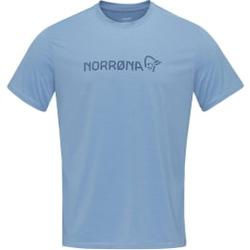 Norrona - Norrona Tech T-Shirt W Coronet Blue - T-Shirts - Größe: M