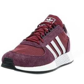 adidas Deerupt Runner Herren Sneaker Schuhe SolarRed Black, Größe:43 13