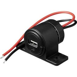 ProPlus USB Aufbau-/Unterbau-Steckdose 12 - 24V