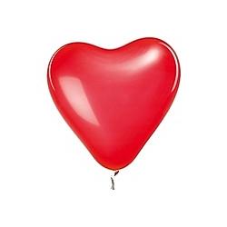 Ballons Herz Rot