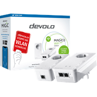 devolo Magic 2 WiFi next Starter Kit Powerline WLAN Starter Kit 2400MBit/s