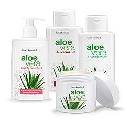 Aloe-Vera-Pflegeset