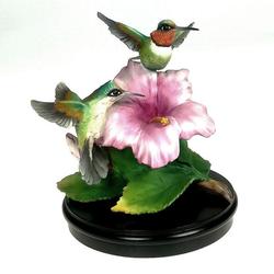 Kaiser Porzellan Kunstfigur Kolibri h: ca. 15 cm Kunstfigur Kolibri