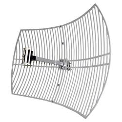 LogiLink Wireless LAN Antenne Grid Parabolic 24 dBi, Outdoor