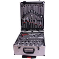 Werkzeugkoffer Werkzeug-Trolley 186-tlg. grau