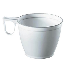 60 PAPSTAR Einweg-Kaffeetassen Kunststoff