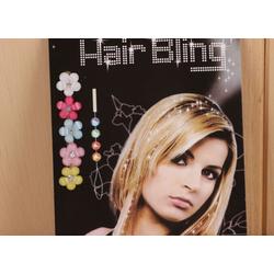 MyBeautyworld24 Haarschmuck Haarschmuck glänzend Brautschmuck Haarkristalle Haarsteinchen ohne Hitze bunt