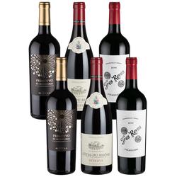 6er-Geburtstagspaket Rotwein - Weinpakete