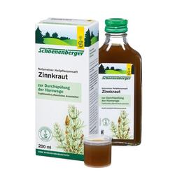 ZINNKRAUT SAFT Schoenenberger 200 ml