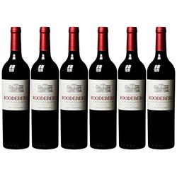 KWV Roodeberg  Western Cape Rotwein trocken aus Südafrika 750ml 6er Pack