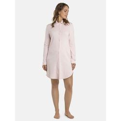 seidensticker Nachthemd Nachthemd, langarm (1-tlg) rosa 46