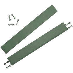 Andiamo Klickfliesen-Kantenleiste Terra Sol, Set, 2 St., grün